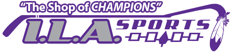 ILA Sports; Your Lacrosse, Hockey and Sports Store Logo