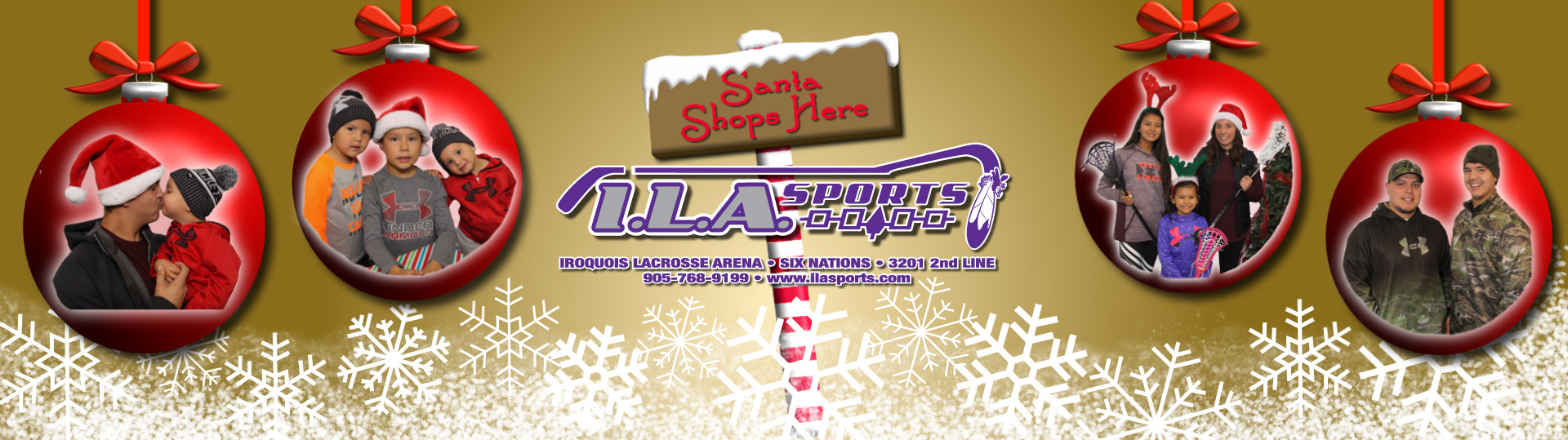 Christmas is here at ILA Sports!